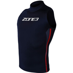 Zone3 Warmth Canotta in neoprene, black/red/white